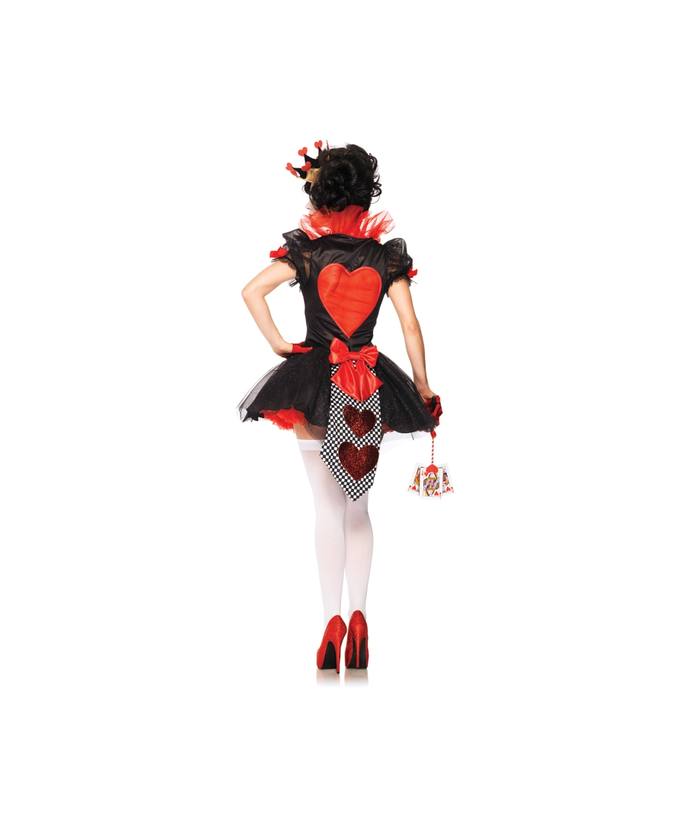 Queen Of Hearts Costumes For Women Adult Royal Queen of H...