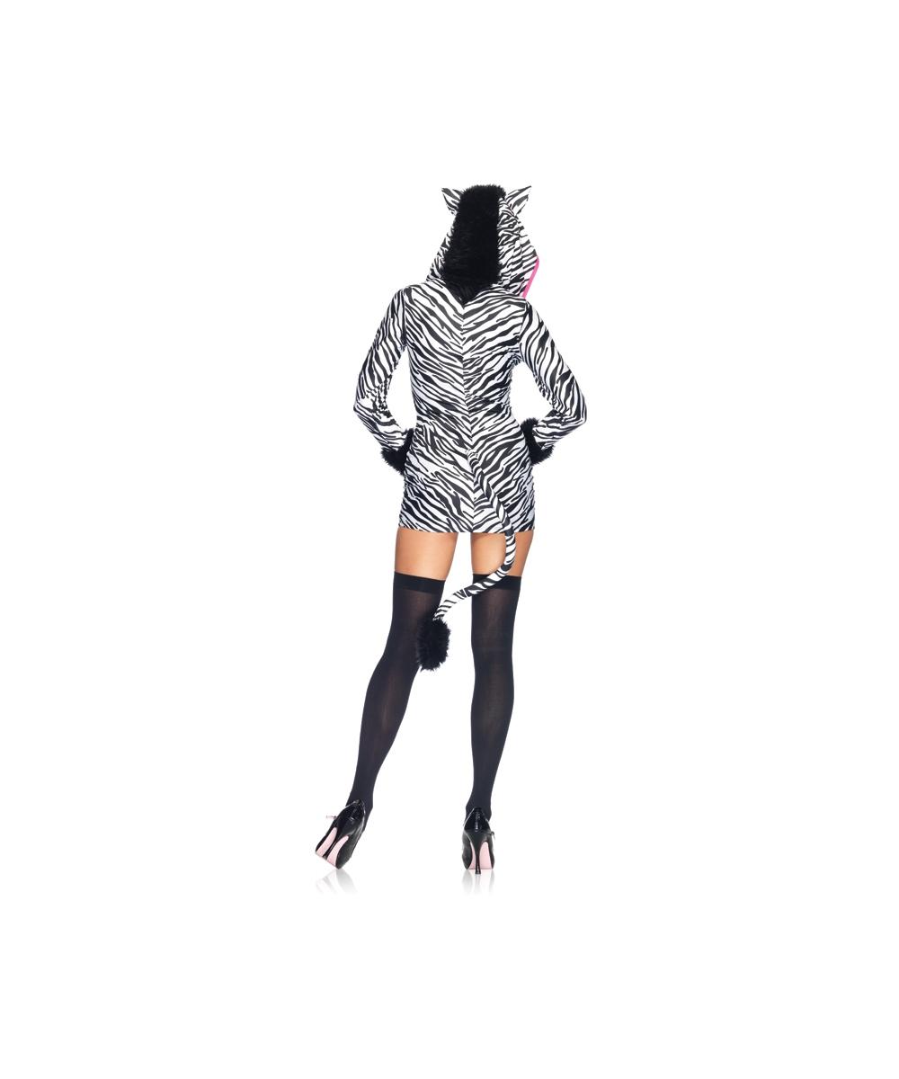 Savanna Zebra Women Costume  sc 1 st  Wonder Costumes & Adult Savanna Zebra Costume - Sexy Animal Costume
