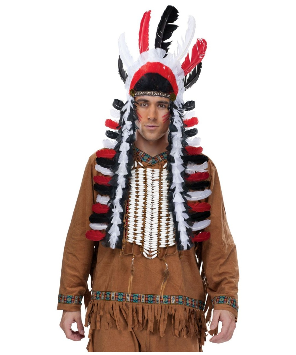sc 1 st  Wonder Costumes : indian chief costume men  - Germanpascual.Com