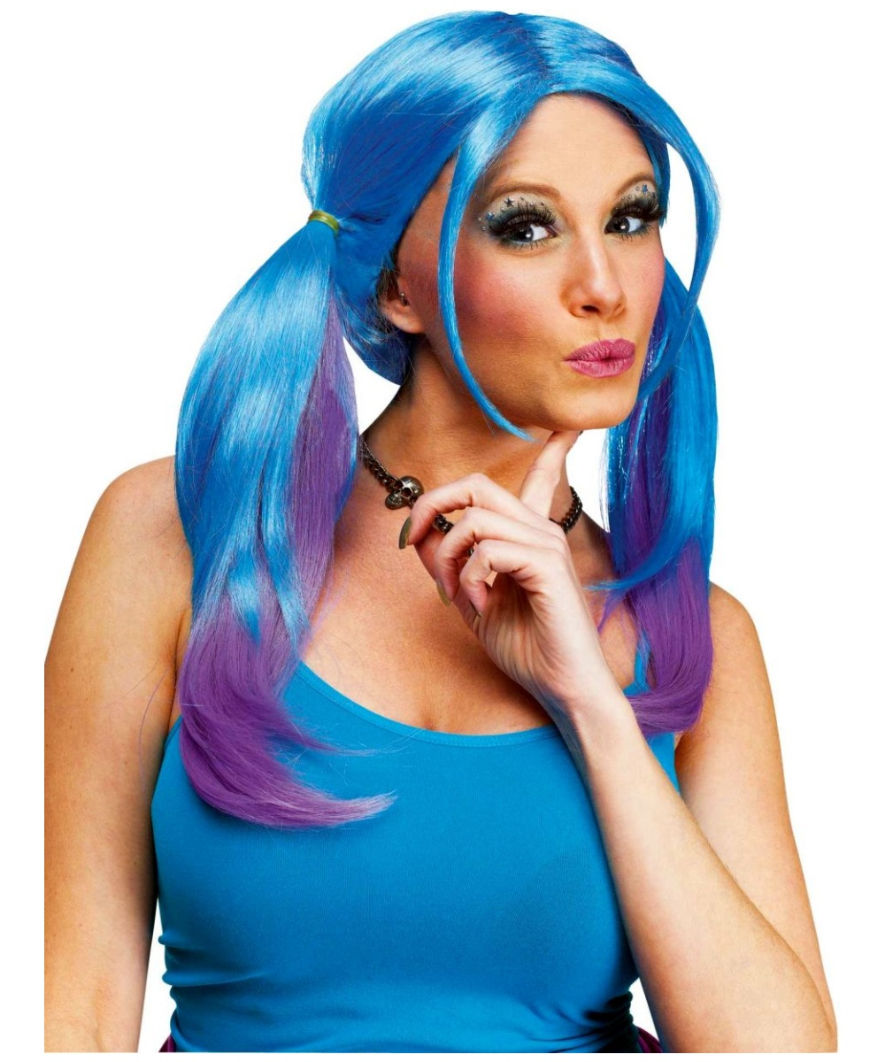 Adult Pigtail Layered Ombre Wig Assortment Women Costume