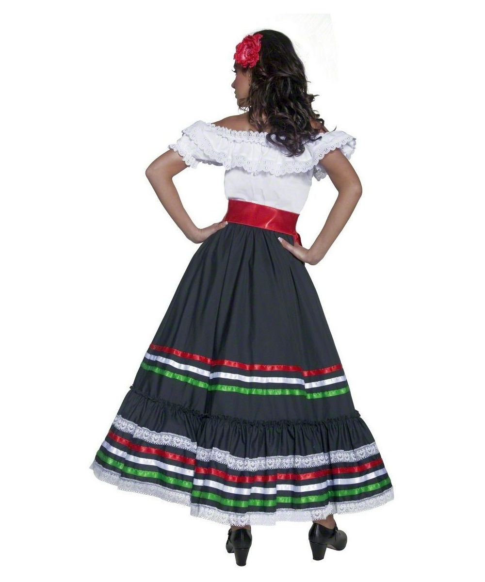 Adult Sexy Senorita Spanish Costume - Women Costumes-1947