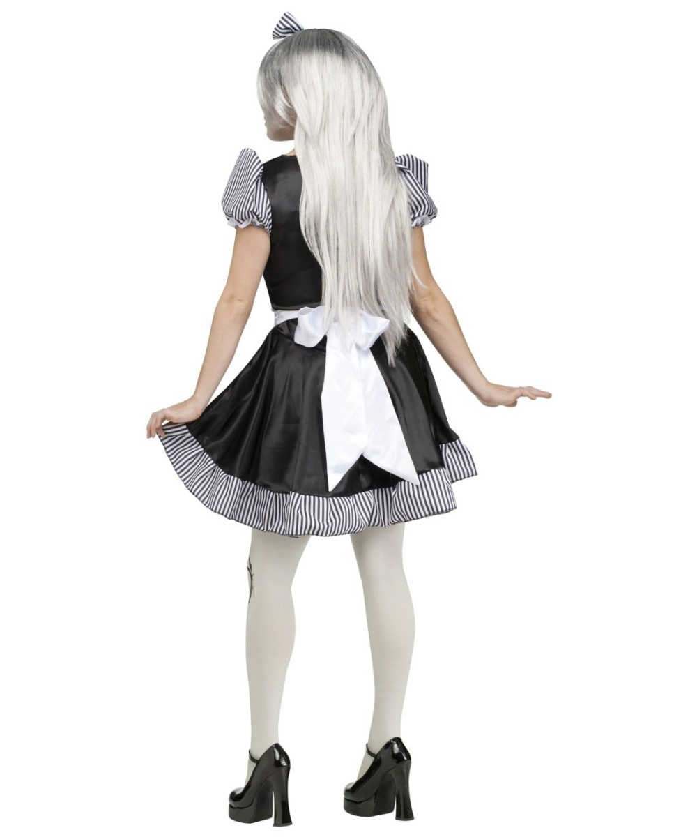 Broken Lolita Doll Womens Costume Women