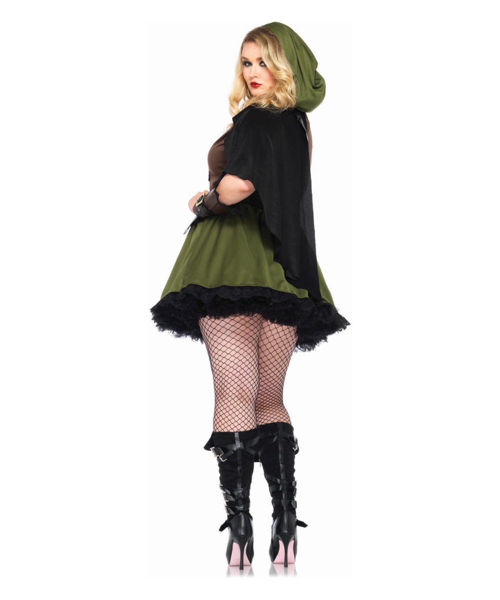 Darling Robin Hood Womens Costume Plus Size Deluxe  sc 1 st  Wonder Costumes & Darling Robin Hood Womens Costume Plus Size - Women Costume