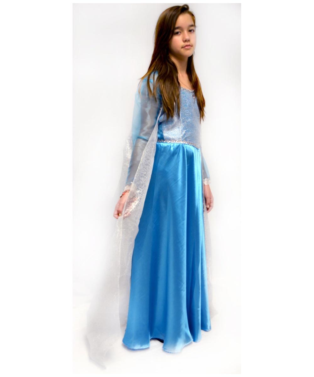 Frozen Elsa Teen Costume Theatrical - Women Costume