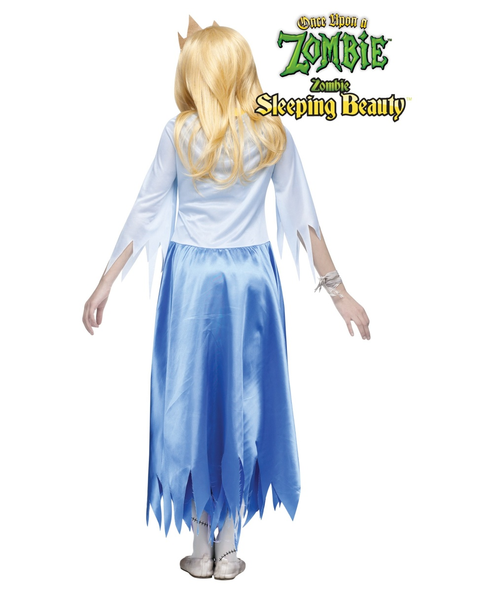 Once Upon A Zombie Sleeping Beauty Girls Teen Costume Girls Costume