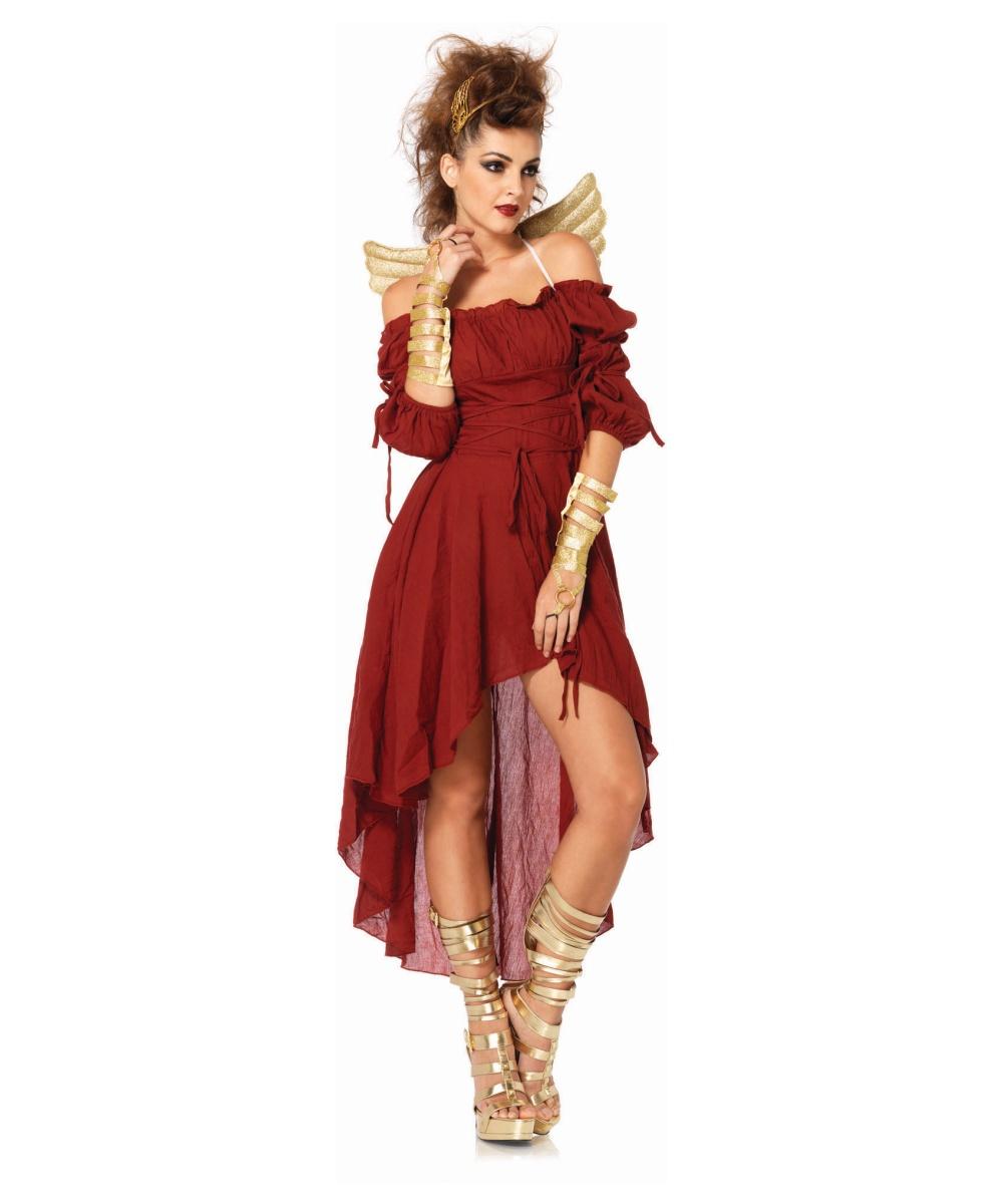 Rust Peasant Womens Costume Women