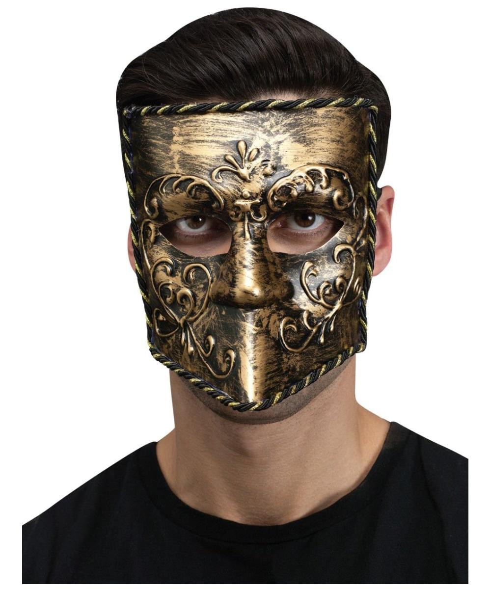Venetian Bauta Knight Mask