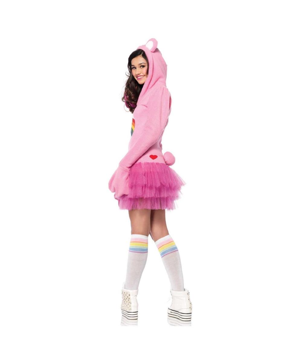 sc 1 st  Halloween Costumes & Care Bears Cheer Bear Teen Girls Costume - TV Show Costumes