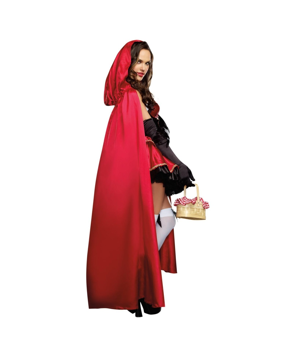 Miss Little Red Riding Hood Womens Costume - Sexy Costume-6544