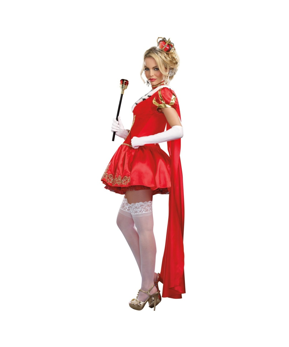 red valentine queen womens costume sexy costume