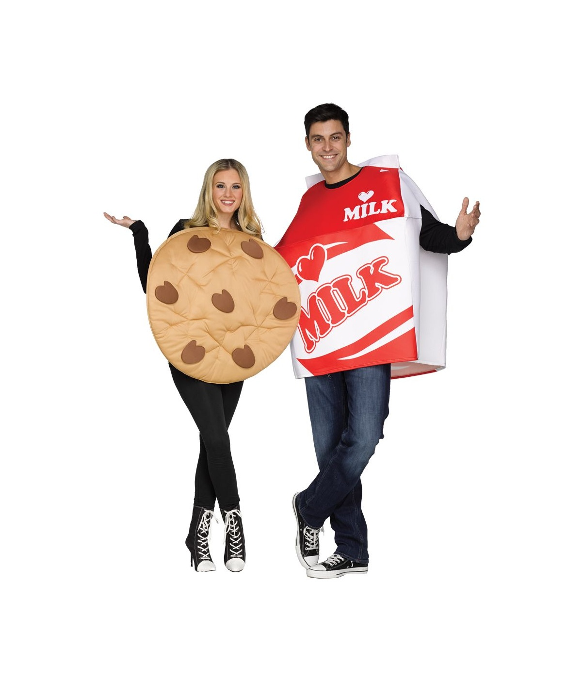 Cookie Milk Couples Costume Food Costumes