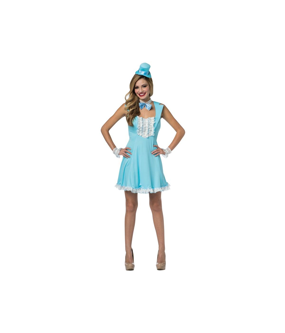 dumb and dumber harry dunne charity blue womens dress costume