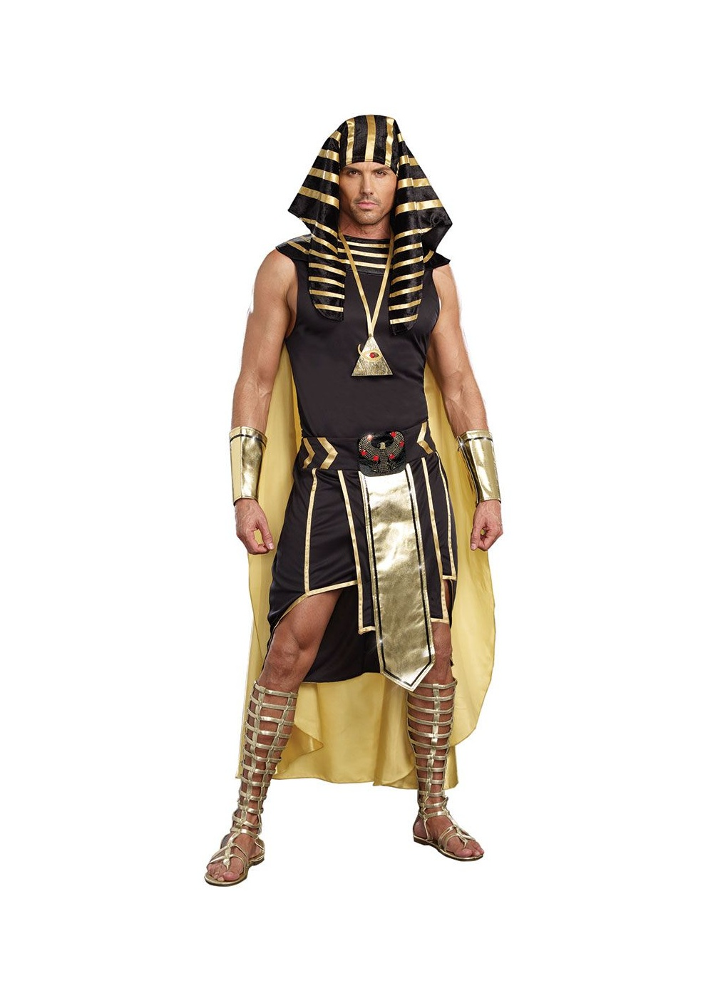 King Egypt Pharaoh Mens Costume Egyptian Costumes