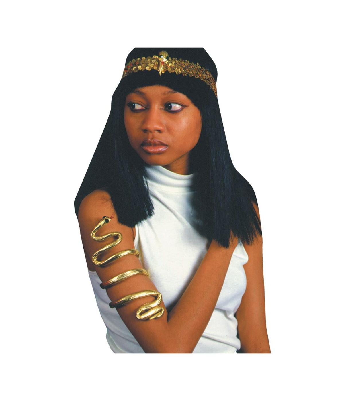 golden cleopatra egyptian armband egyptian costumes