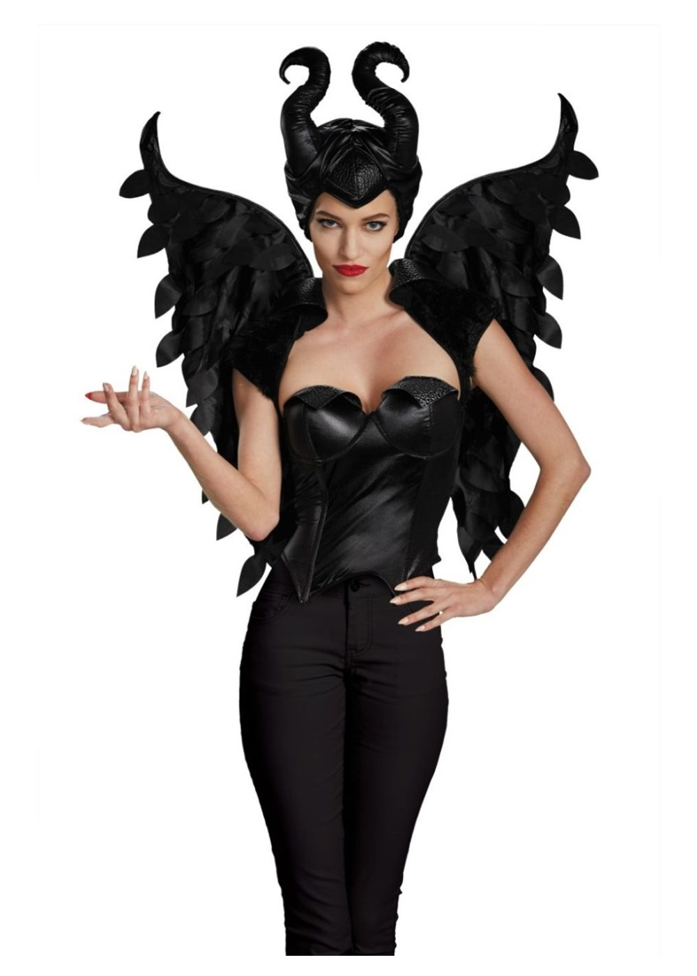 Maleficent Headpiece And Wings Women Set Accessories