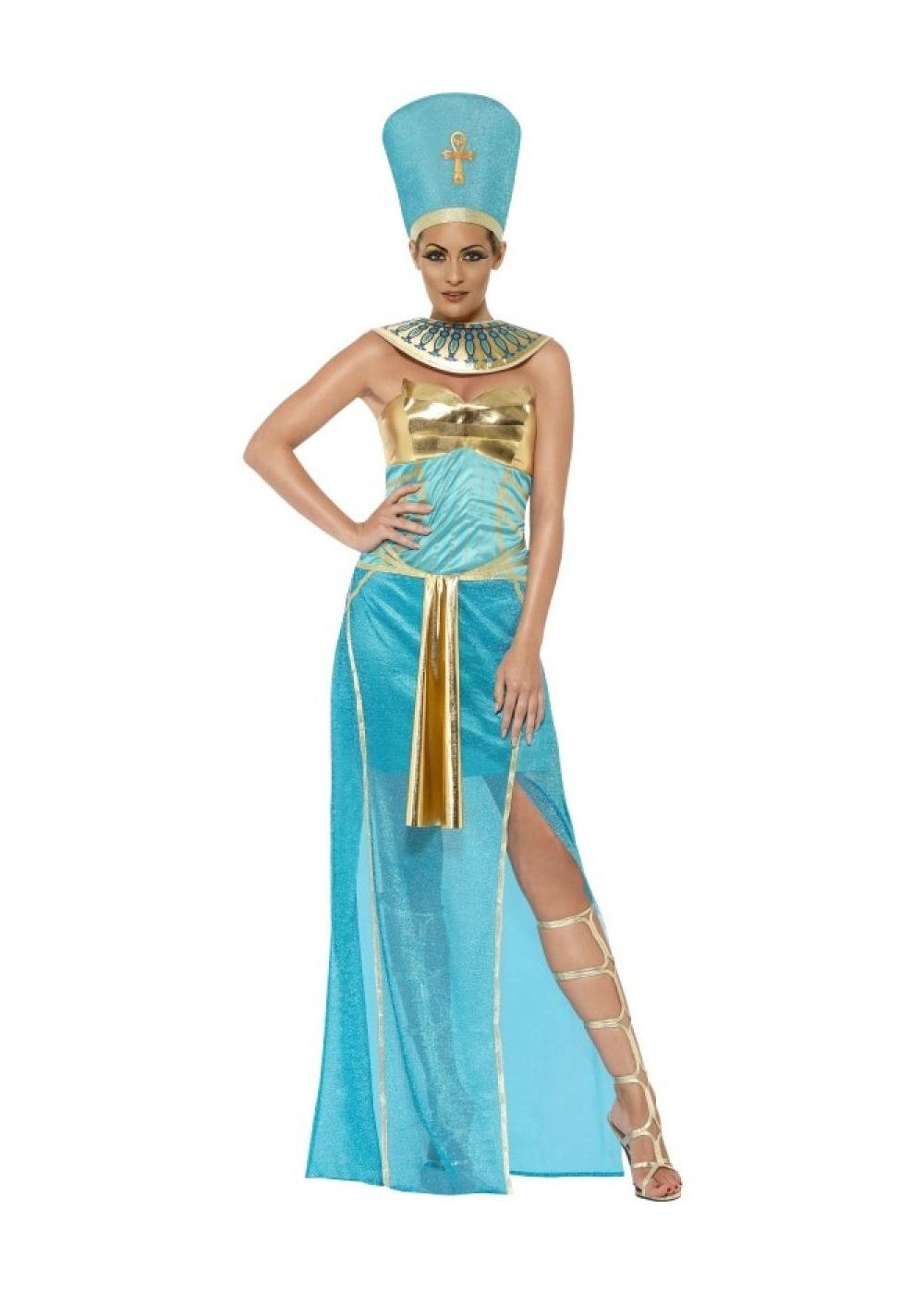 Egyptian Goddess Nefertiti Women Costume
