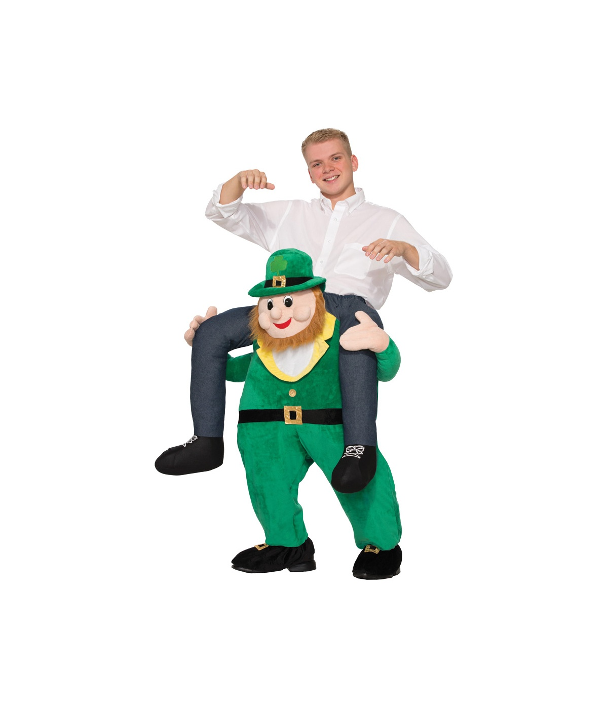 Once Upon A Leprechaun Mens Costume  sc 1 st  Wonder Costumes & Once Upon a Leprechaun Mens Costume - Funny Costumes