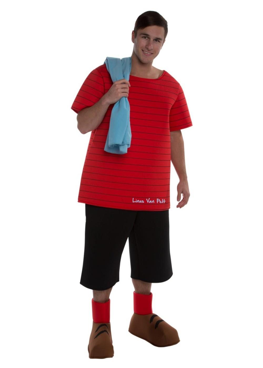 peanuts linus mens costume - tv show costumes