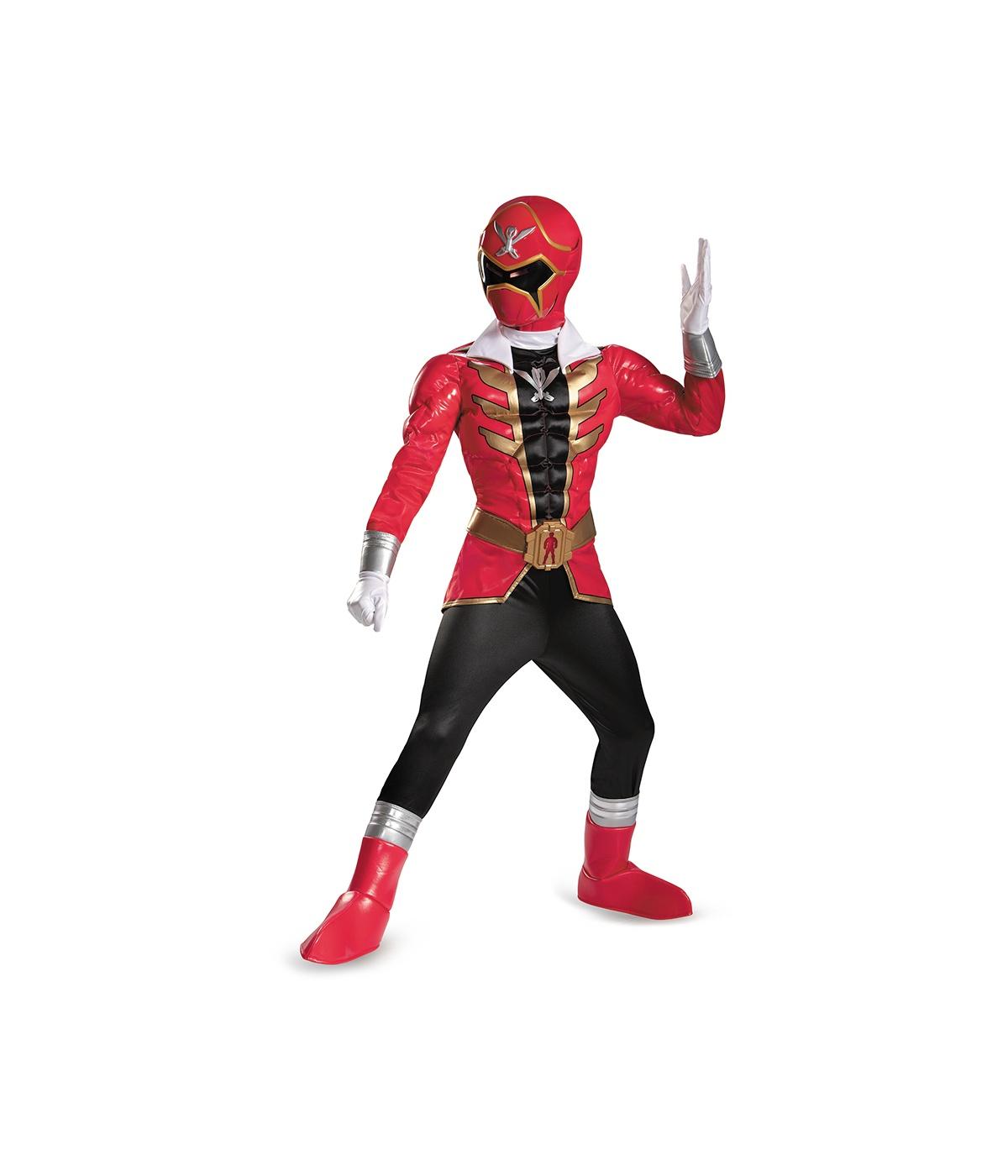 Power Rangers Red Ranger Super Megaforce Boys Costume