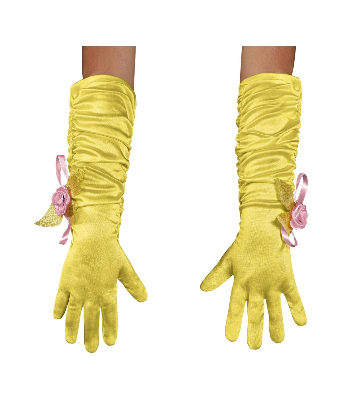 Princess Belle Toddler Gloves