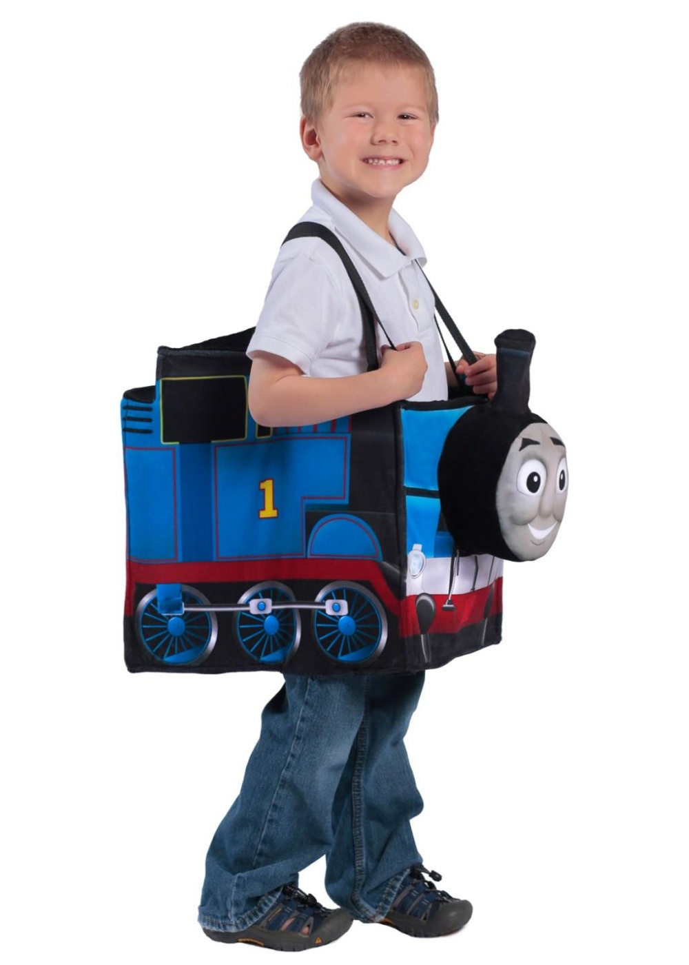 Thomas The Tank Engine Ride In Boys Train Costume Tv
