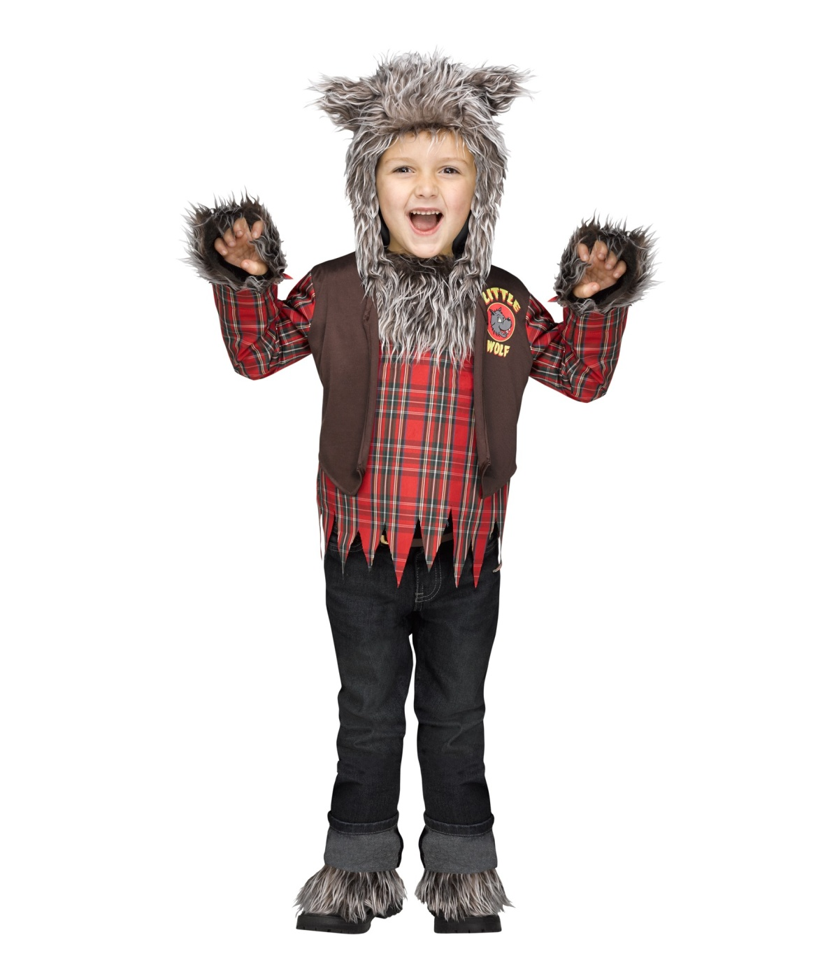 Werewolf Toys For Boys : Wolf wear boys costume animal costumes