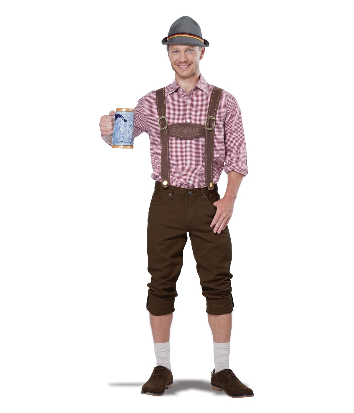 Yodeling Man Lederhosen Costume Kit
