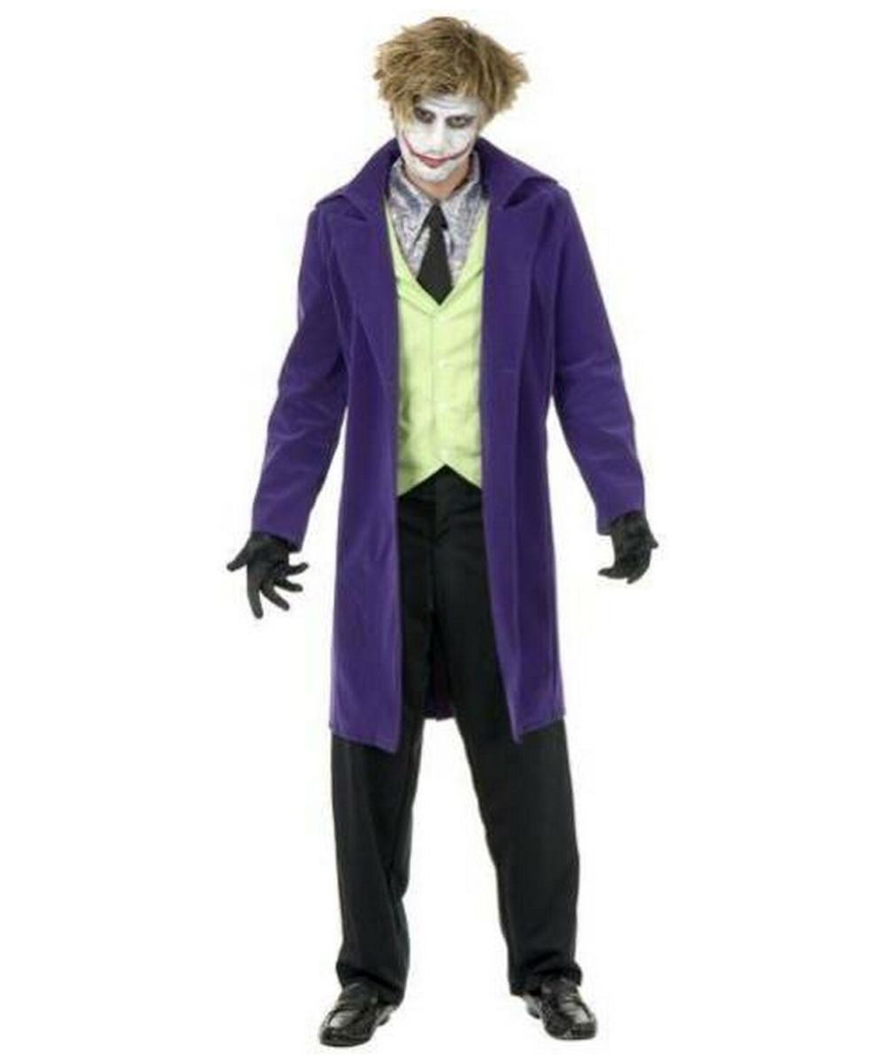 sc 1 st  Wonder Costumes & Batman Psycho Clown Movie Adult Costume - Men Movie Costumes