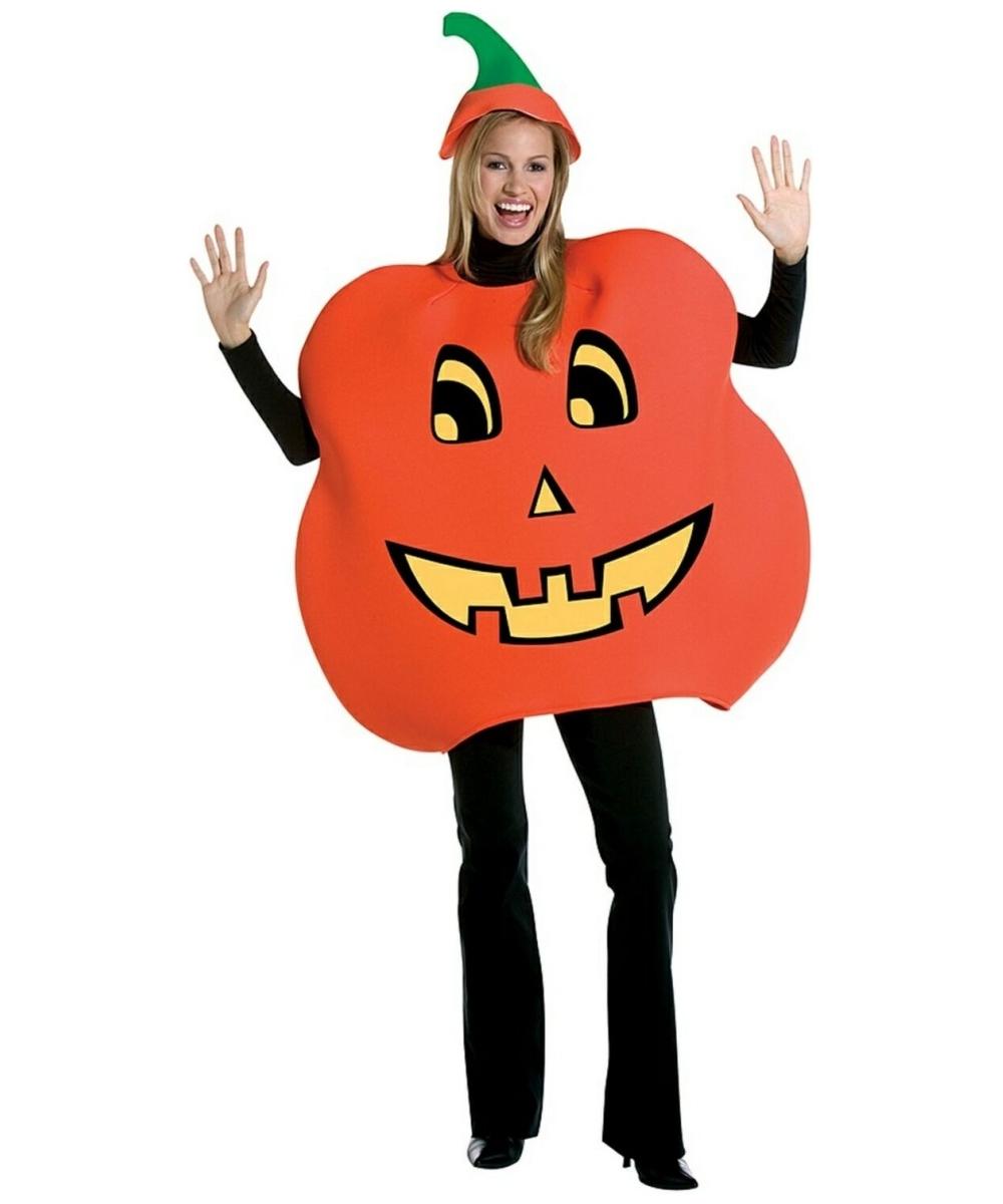 Adult Pumpkin Halloween Costume - Women Pumpkin Costumes-1947
