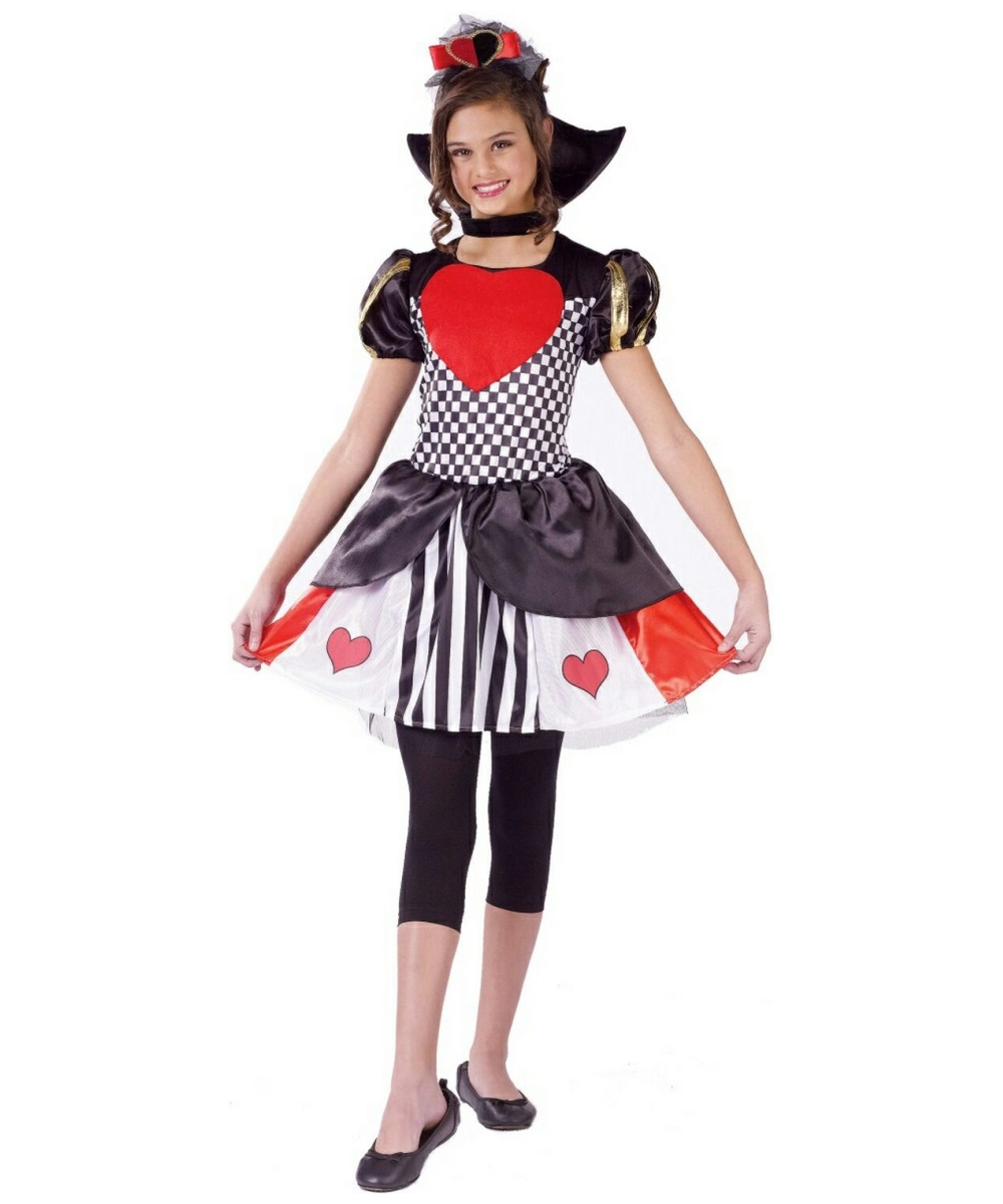 queen of hearts kids disney girl costume girls queen of hearts costumes