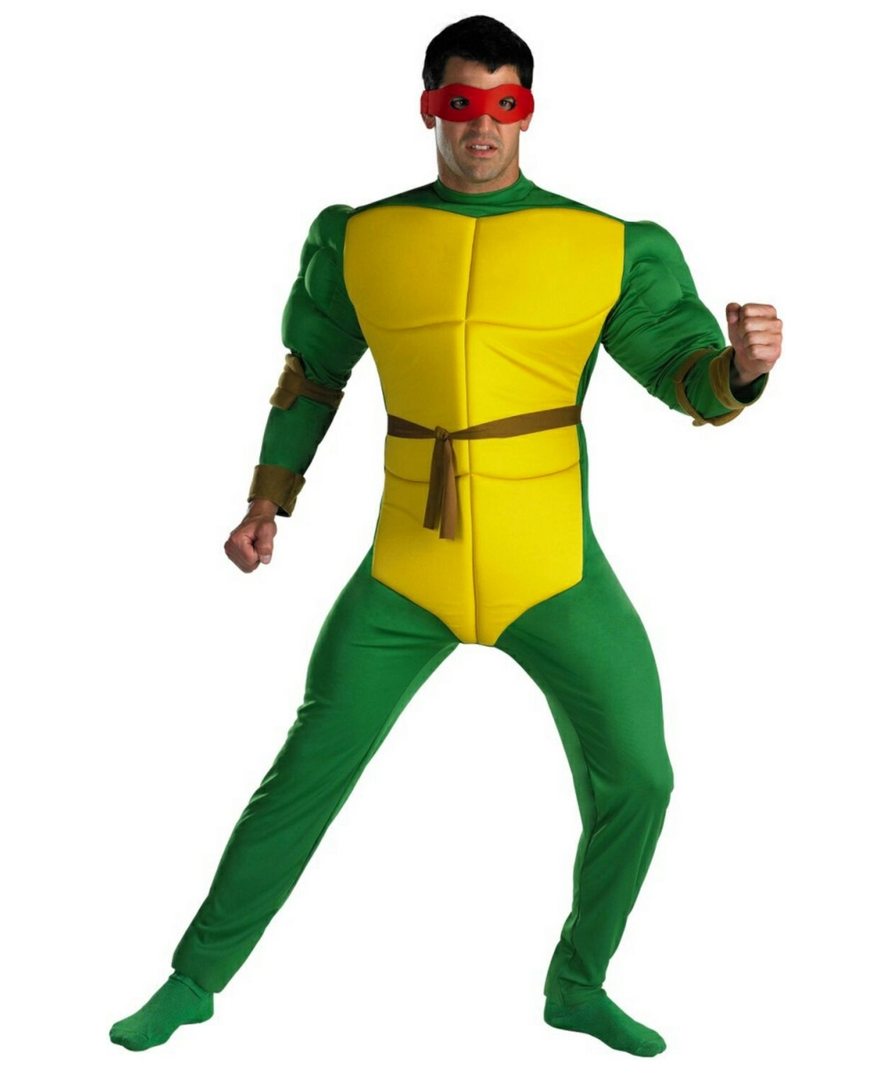 sc 1 st  Wonder Costumes & Raphael Ninja Turtle Adult Costume - Ninja Men Costume
