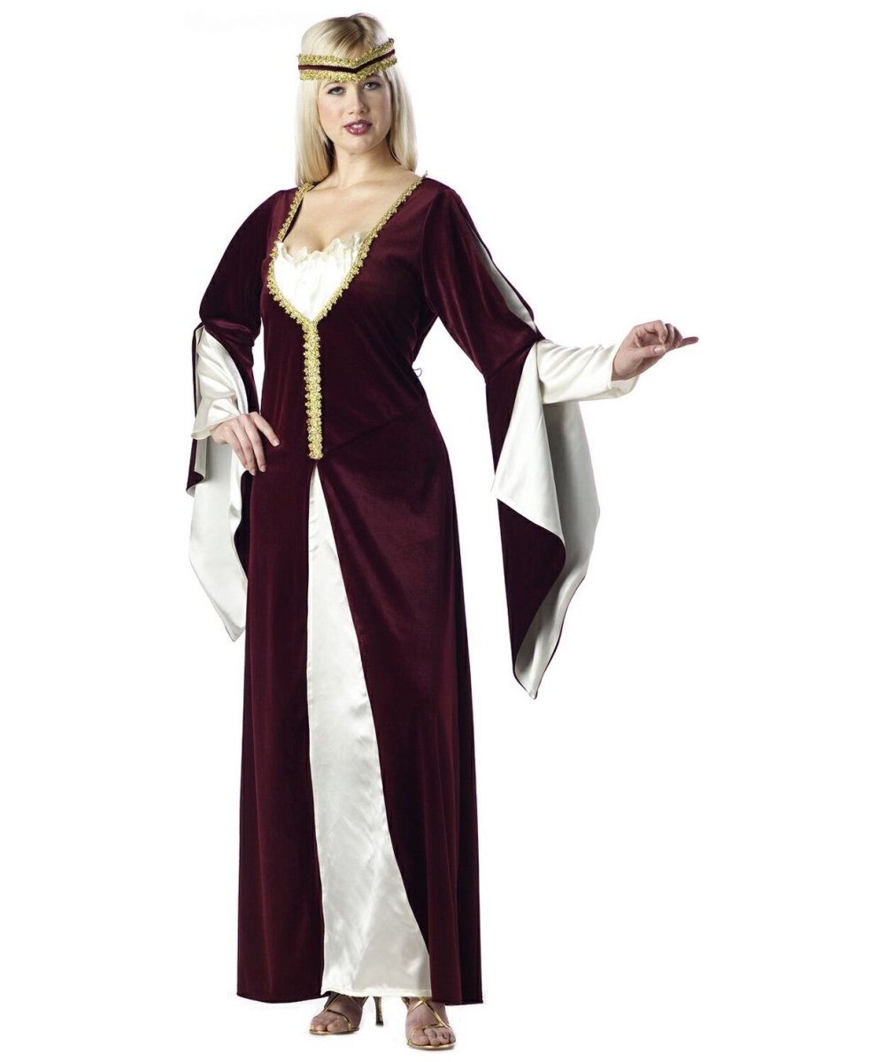 Regal Princess Costume Adult Plus Size Costume Renaissance