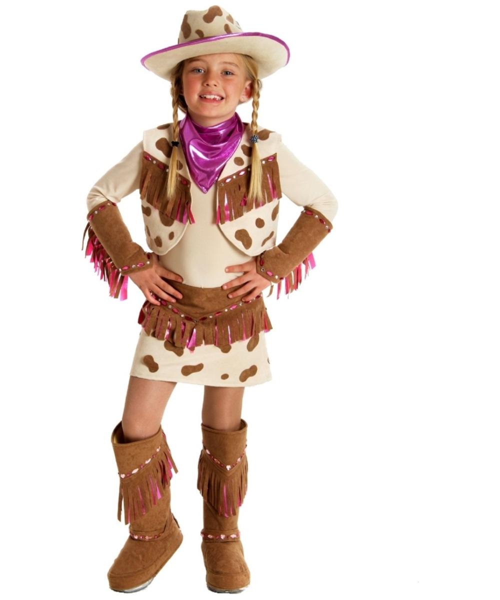 Rhinestone Cowgirl Kids Costume - Girls Cowboy Costumes