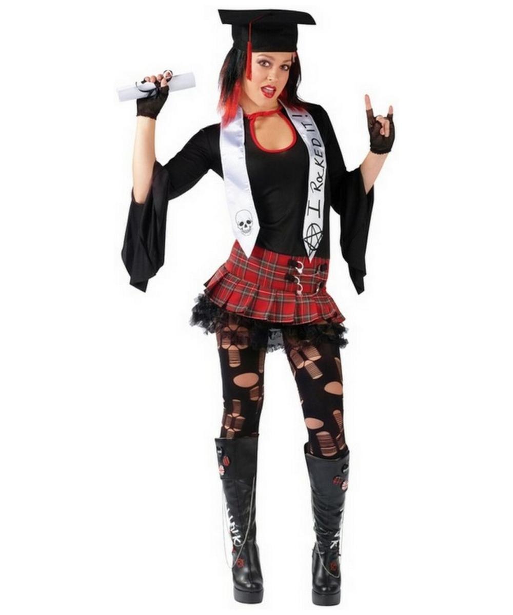 Rock Grad Costume Teen Teenager Halloween