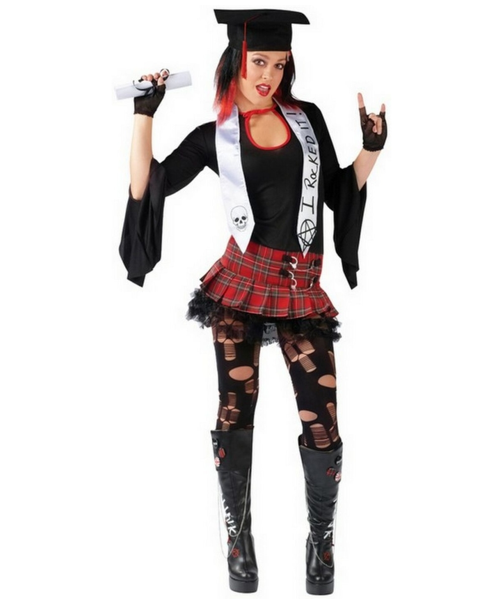 rock n grad costume - teen costume - teenager halloween costume at