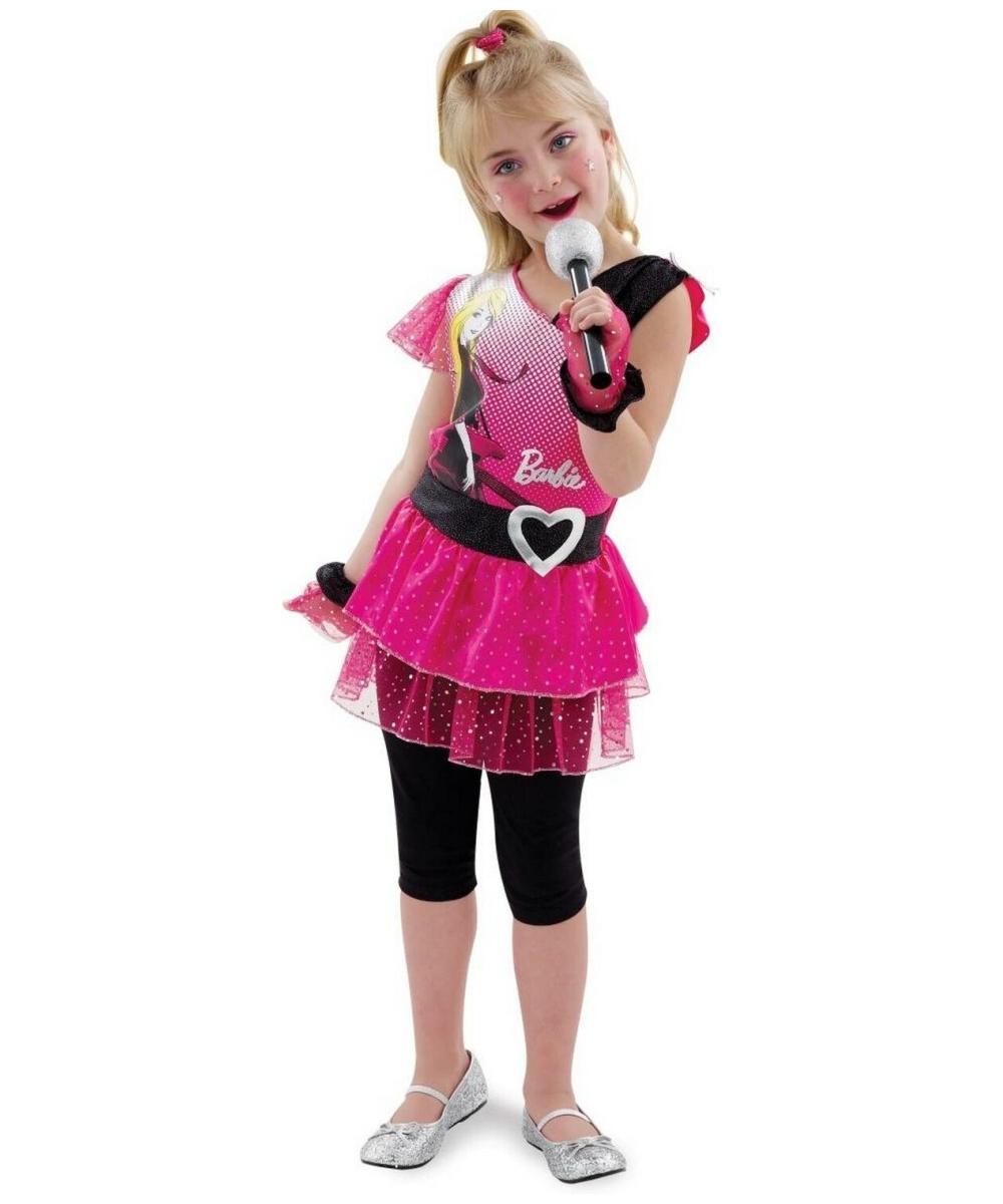 Rocking Diva Barbie Babykids Costume 1980s Costumes