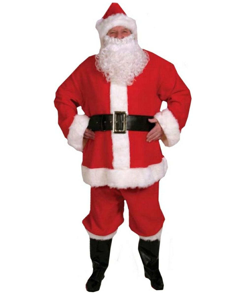 2fd1010e0a773 Adult Santa Suit Christmas Costume - Men Santa Costumes