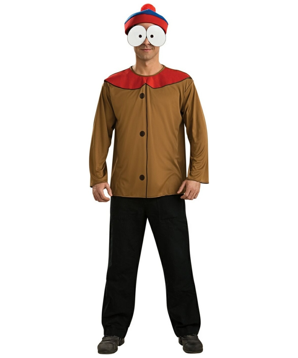 Adult South Park Stan Funny Costume Men Costumes