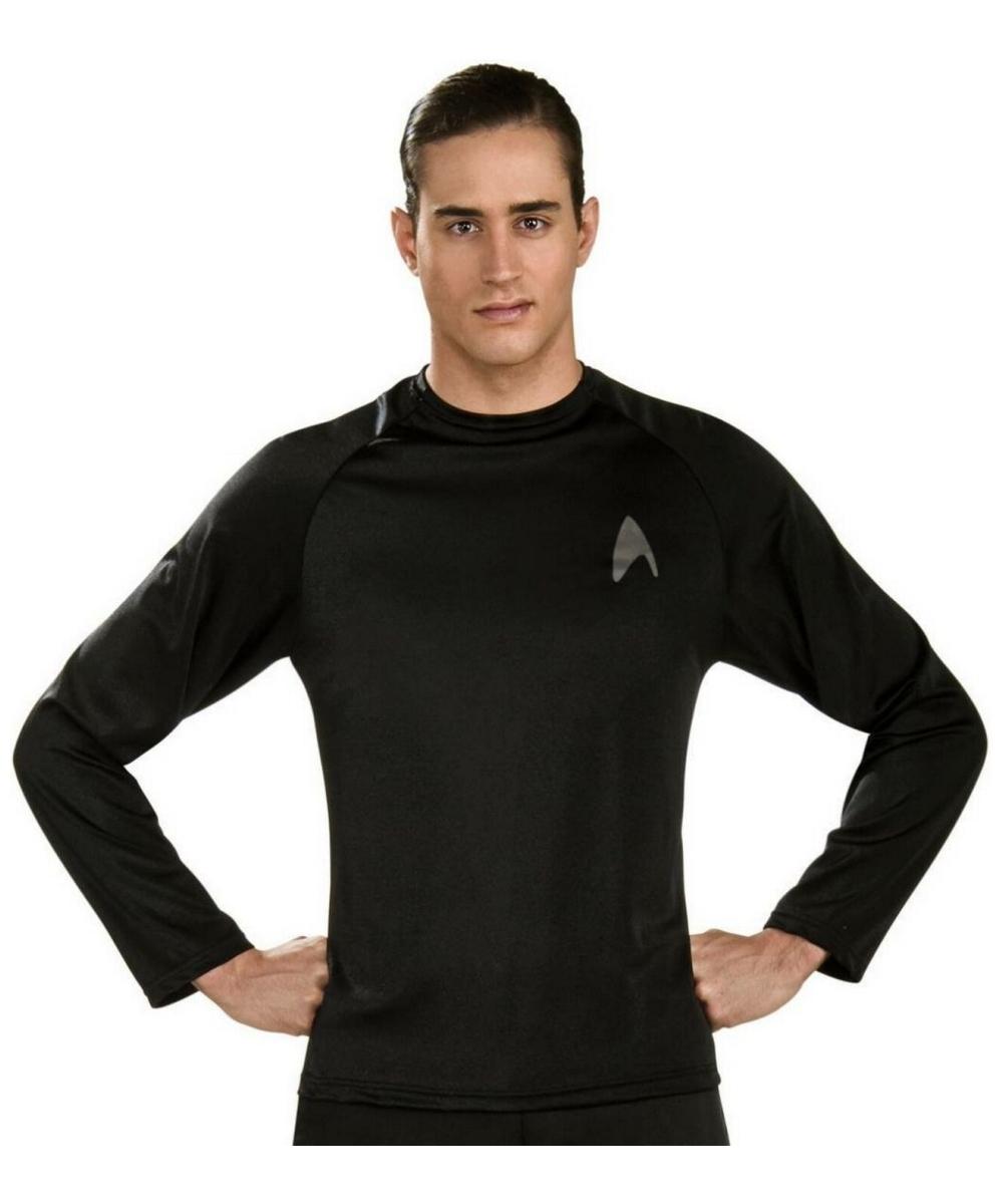 Adult star trek black undershirt movie costume men costumes buycottarizona