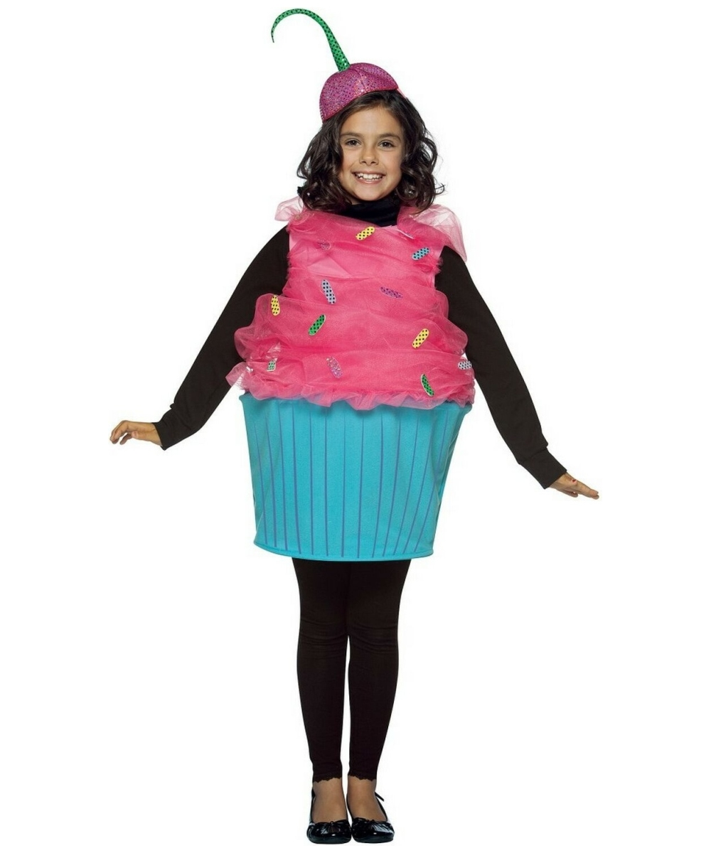 Sweet eats cupcake costume kids costume halloween for Cool halloween costumes for kids girls