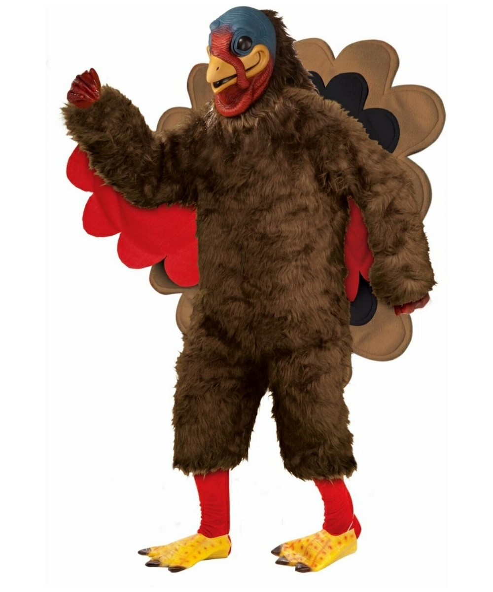 tom the turkey costume - adult costume - halloween halloween costume