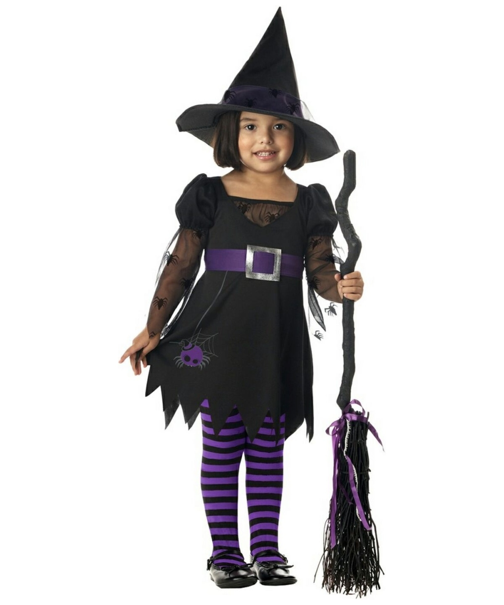 Wee Wittle Witch Kids Halloween Costume - Girls Costumes