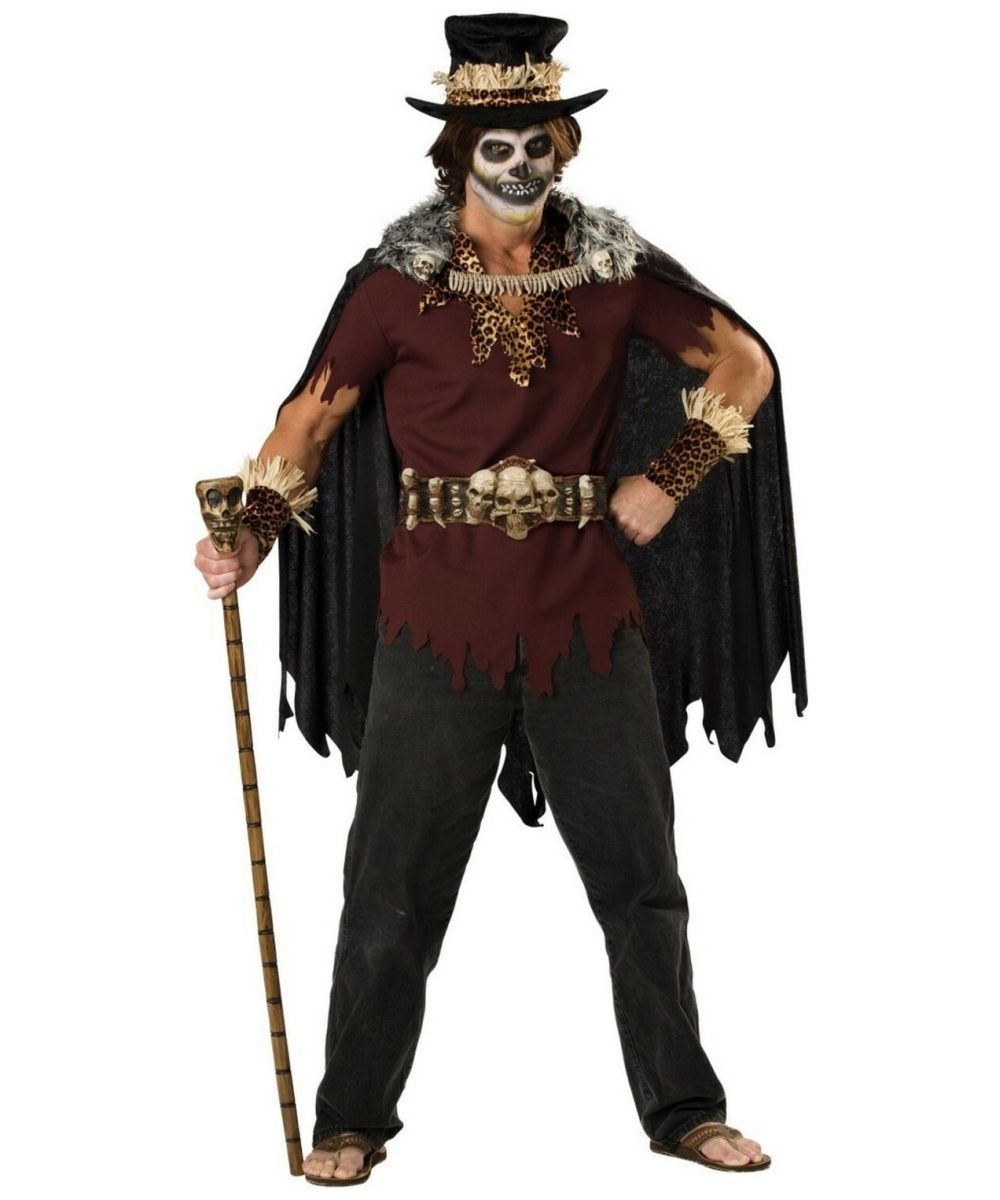 Adult Witch Doctor Costume - Doctor Halloween Costumes