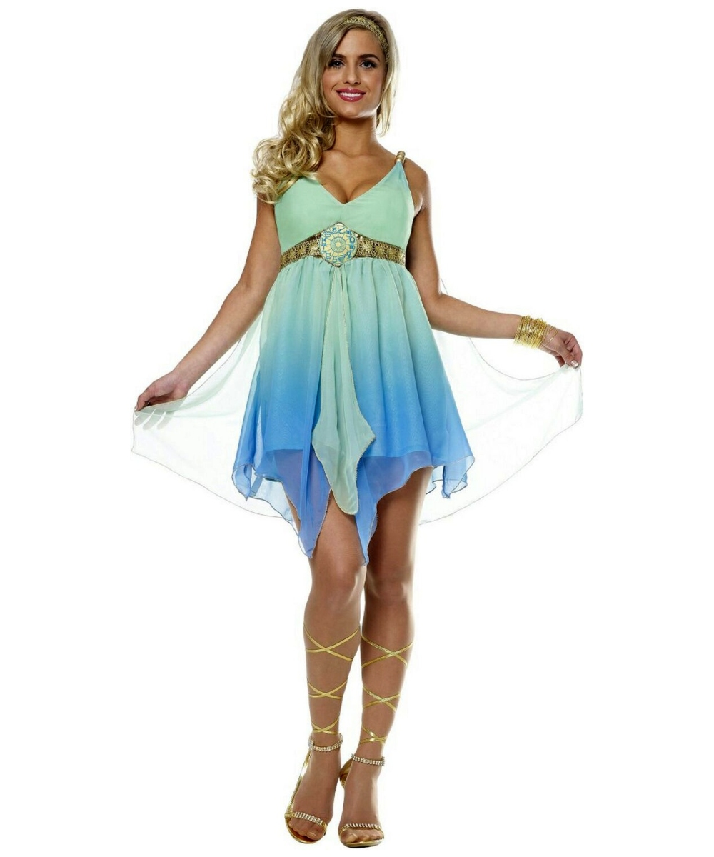 adult zodiac goddess aphrodite greek halloween costume