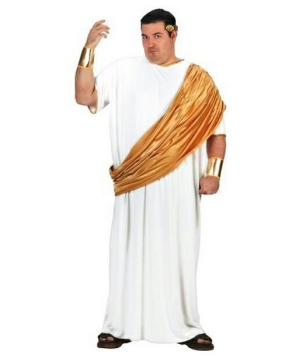 Julius Caesar Mens plus size Costume