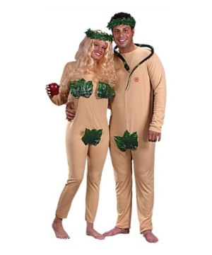 Adam Eve Costume Set
