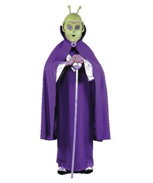 Alien Kids Mask Cape