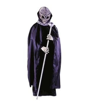 Adult Alien Mask With Cape Men Halloween Costumes