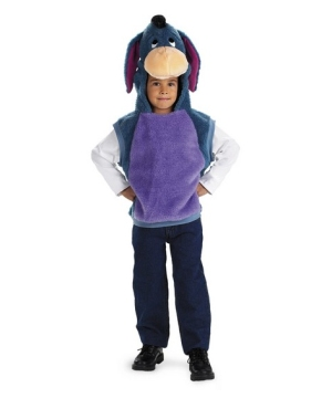 Eeyore Vest Toddler Boys Costume
