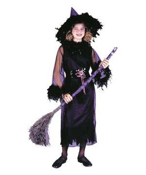 Feather Witch Child Costume